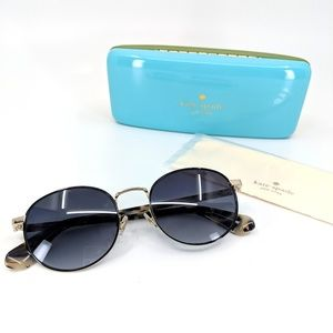 "🆕KATE SPADE ""Adelais"" Black Havana Sunglasses"